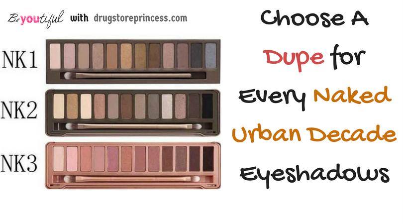 Fabuleux Urban Decay Naked Basics Dupes HA39