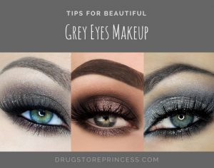 Grey Evening Makeup
