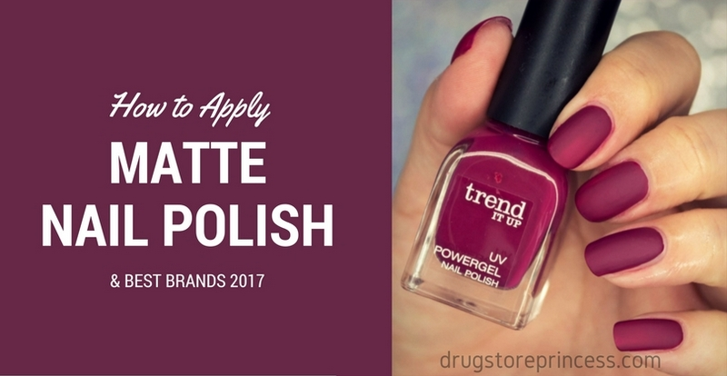 Matte Nail Polish: Application & Best Brands 2017