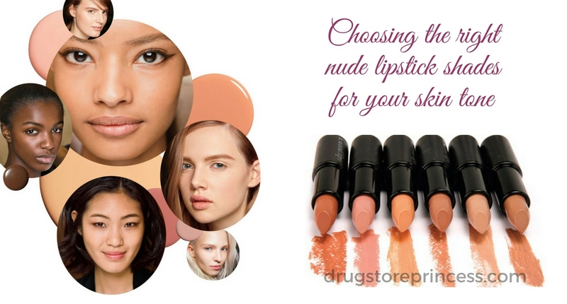 Choosing the right nude lipstick shades for your skin tone