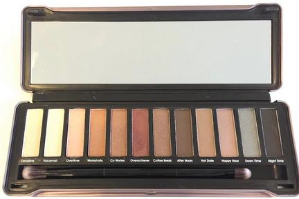 Models Prefer Nude Eyeshadow Palette