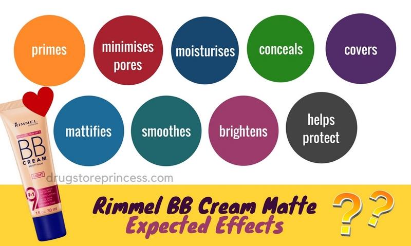 Rimmel BB Cream Matte effects
