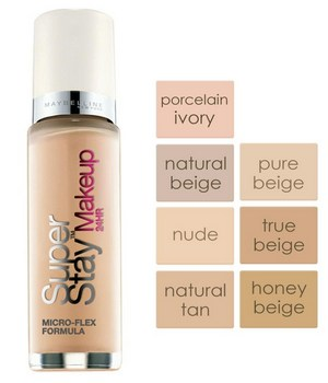 maybelline new york superstay foundation