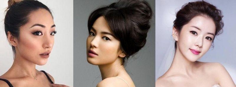 Wedding eye makeup for Asian brides