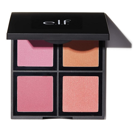 e.l.f. Cosmetics Powder Blush Palette, Four Blush Shades