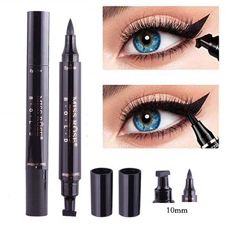 Winged Eyeliner Stamp-2 Pens Dual Ended Liquid Eye Liner